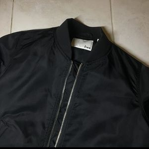 Jackets & Blazers - aritzia black bomber jacket